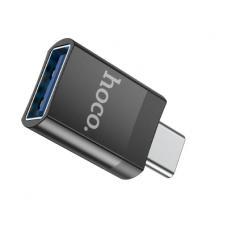 Крепление для телефона (универс.) HOCO CA38 Platinum Sharp  на вент.панель Black